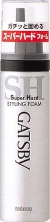 ピストン認証化学ギャツビー スタイリングフォーム スーパーハード(ハンディ) 65g