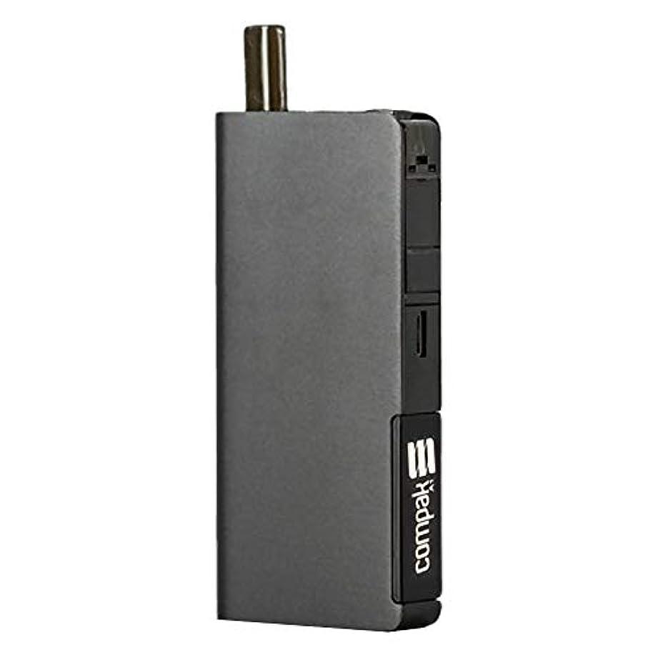 社員手荷物無視Sigelei 新型 Compak A1 AIO KIT 電子タバコ スターターキット頑丈【正規輸入品】 1100mAH内蔵バッテリー 吸い心地抜群 爆煙 液漏れなし、コンパクトサイズ(黒)