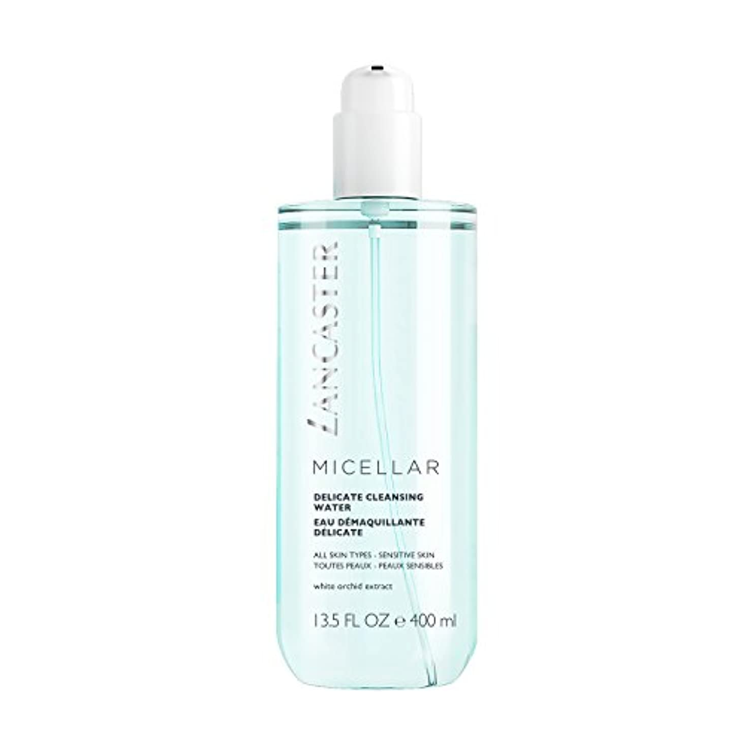 たまに濃度データベースランカスター Micellar Delicate Cleansing Water - All Skin Types, Including Sensitive Skin 400ml/13.5oz並行輸入品