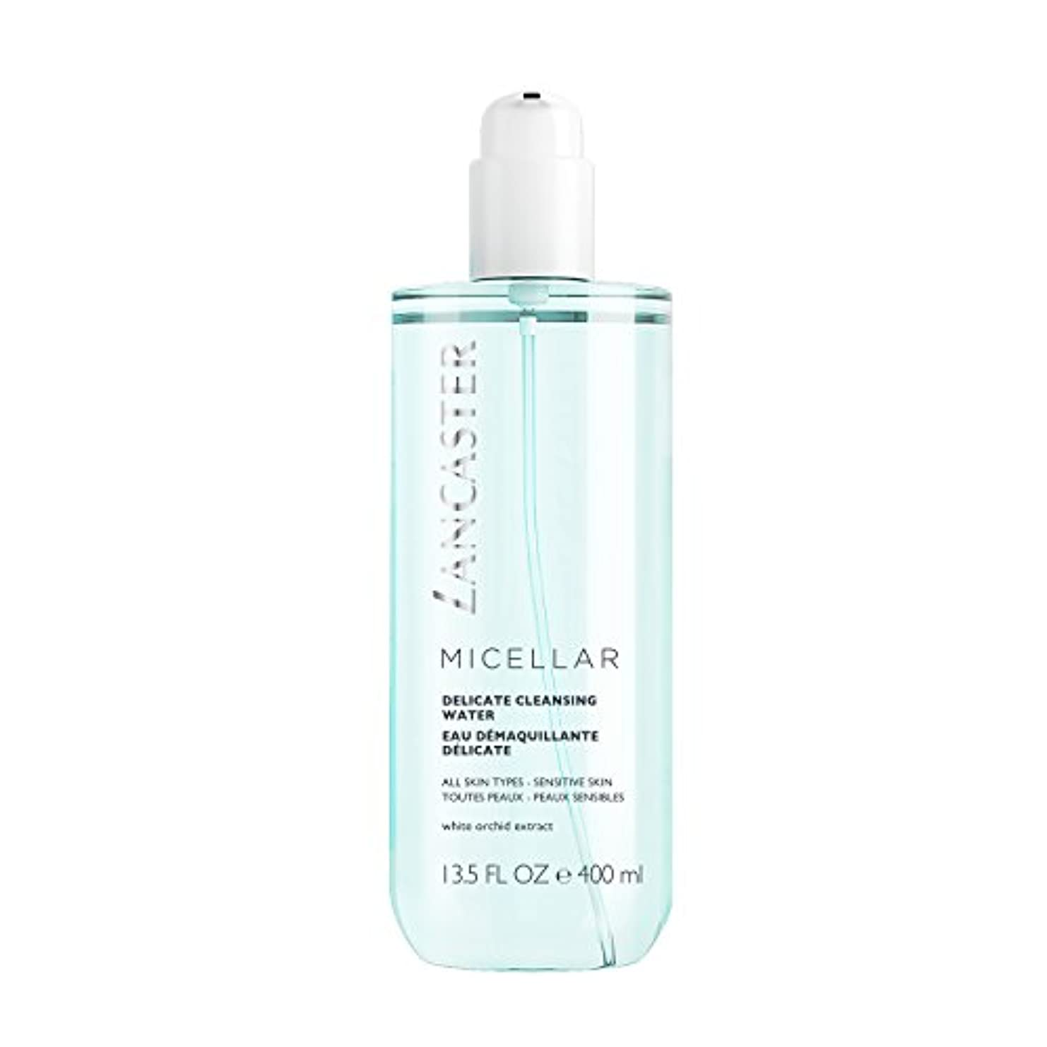 否認する欲しいですもう一度ランカスター Micellar Delicate Cleansing Water - All Skin Types, Including Sensitive Skin 400ml/13.5oz並行輸入品