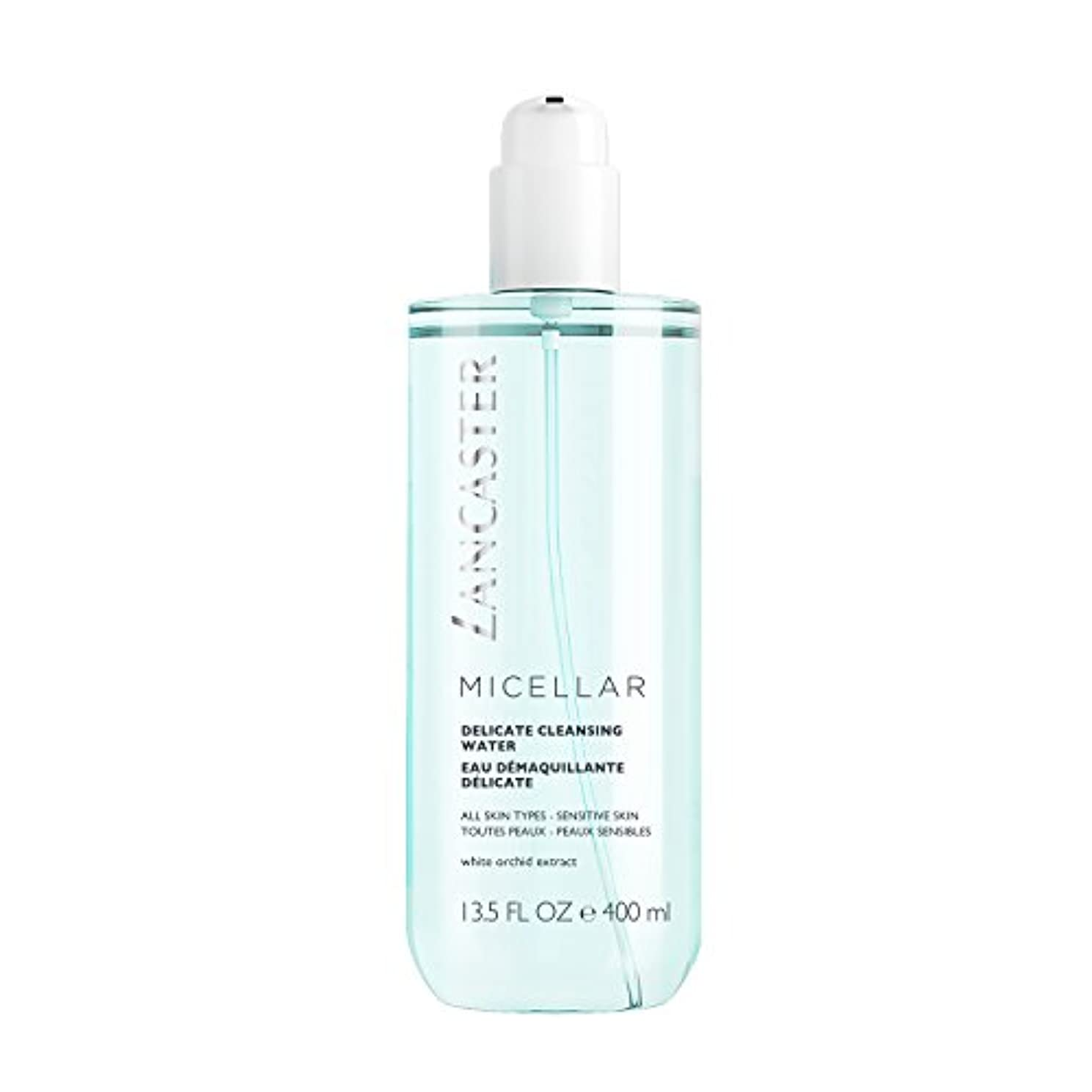 文庫本発症賭けランカスター Micellar Delicate Cleansing Water - All Skin Types, Including Sensitive Skin 400ml/13.5oz並行輸入品