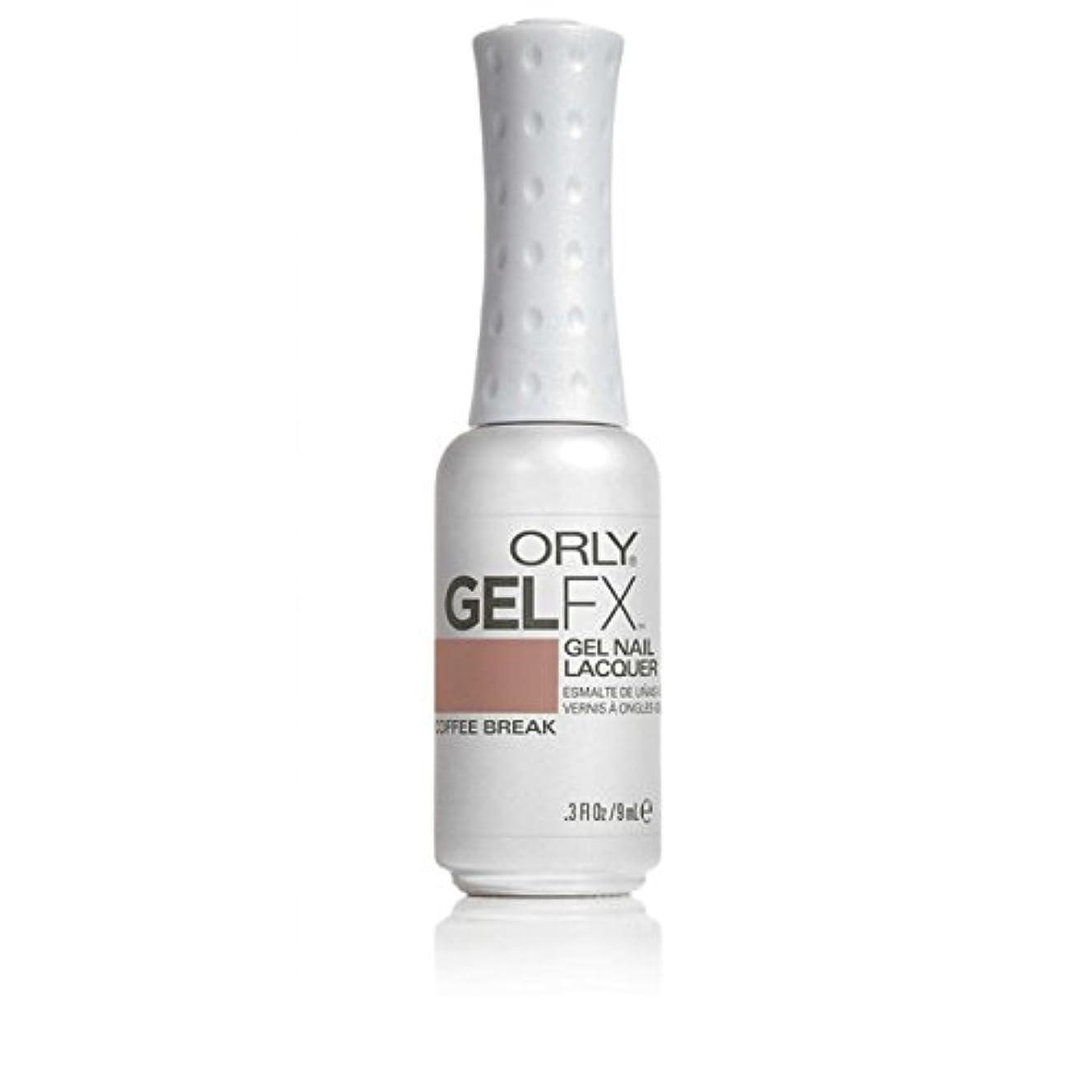 地理消毒する愛情ORLY(オーリー)ジェルFXジェルネイルラッカー 9ml コーヒーブレイク#30575