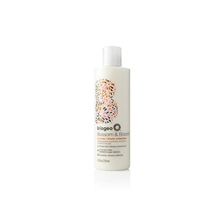 部統計ぬれたBriogeo Blossom & Bloom Ginseng + Biotin Volumizing Conditioner (250ml) (Pack of 6) - 花&ブルーム人参+ビオチンボリューム化コンディショナー...