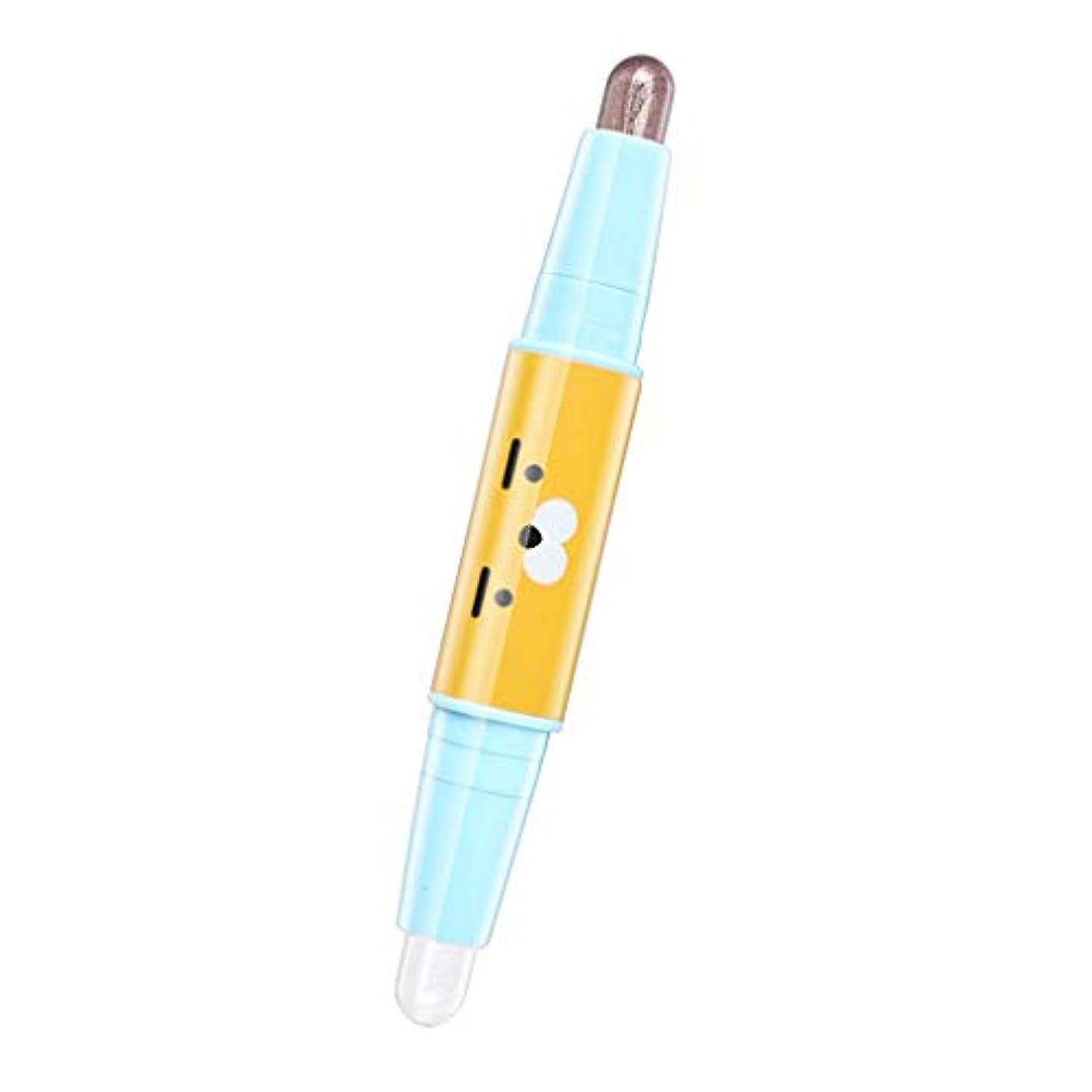 本物の自由不機嫌DYNWAVE 女性 アイシャドー アイシャドウ アイシャドウスティック アイシャドウペン キラキラ 防水 全6色 - 05