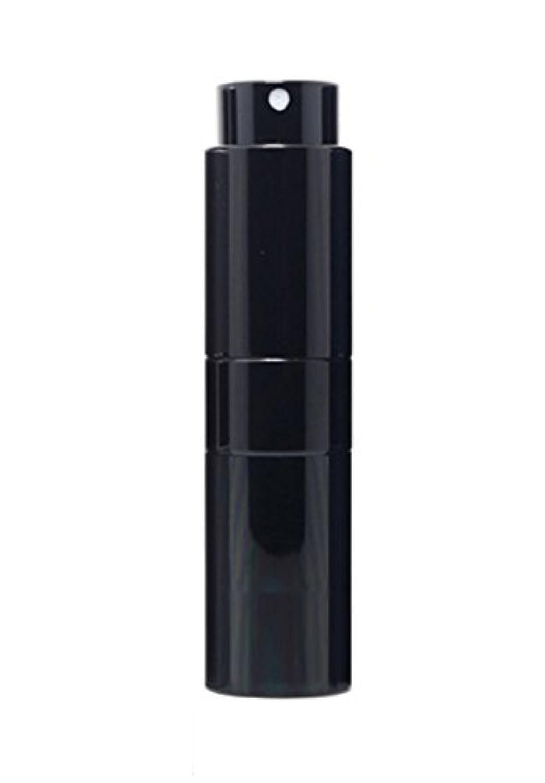 失業独占せがむNYSh 香水 アトマイザー プッシュ式 スプレー 詰め替え 携帯 身だしなみ メンズ 15ml (ブラック)