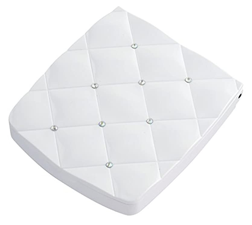 第四寛大さ良い貝印 LED付き約5倍拡大鏡 S 白 KQ0335