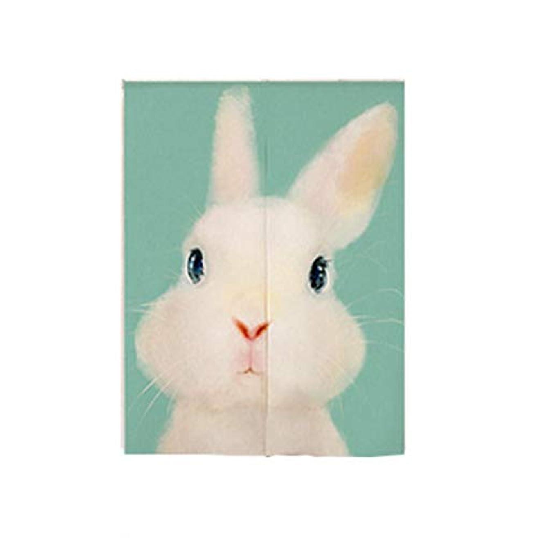 シェル見せます預言者Saikogoods かわいいかわいい漫画の動物のプリントの子供のベッドルームリビングルームコットンカーテンハーフオープンカーテンドアカーテン マルチカラーミックス