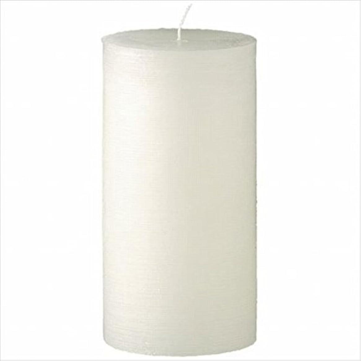 それ分離名門ヤンキーキャンドル( YANKEE CANDLE ) ラスティクピラー3×6 「 シルキーホワイト 」 キャンドル