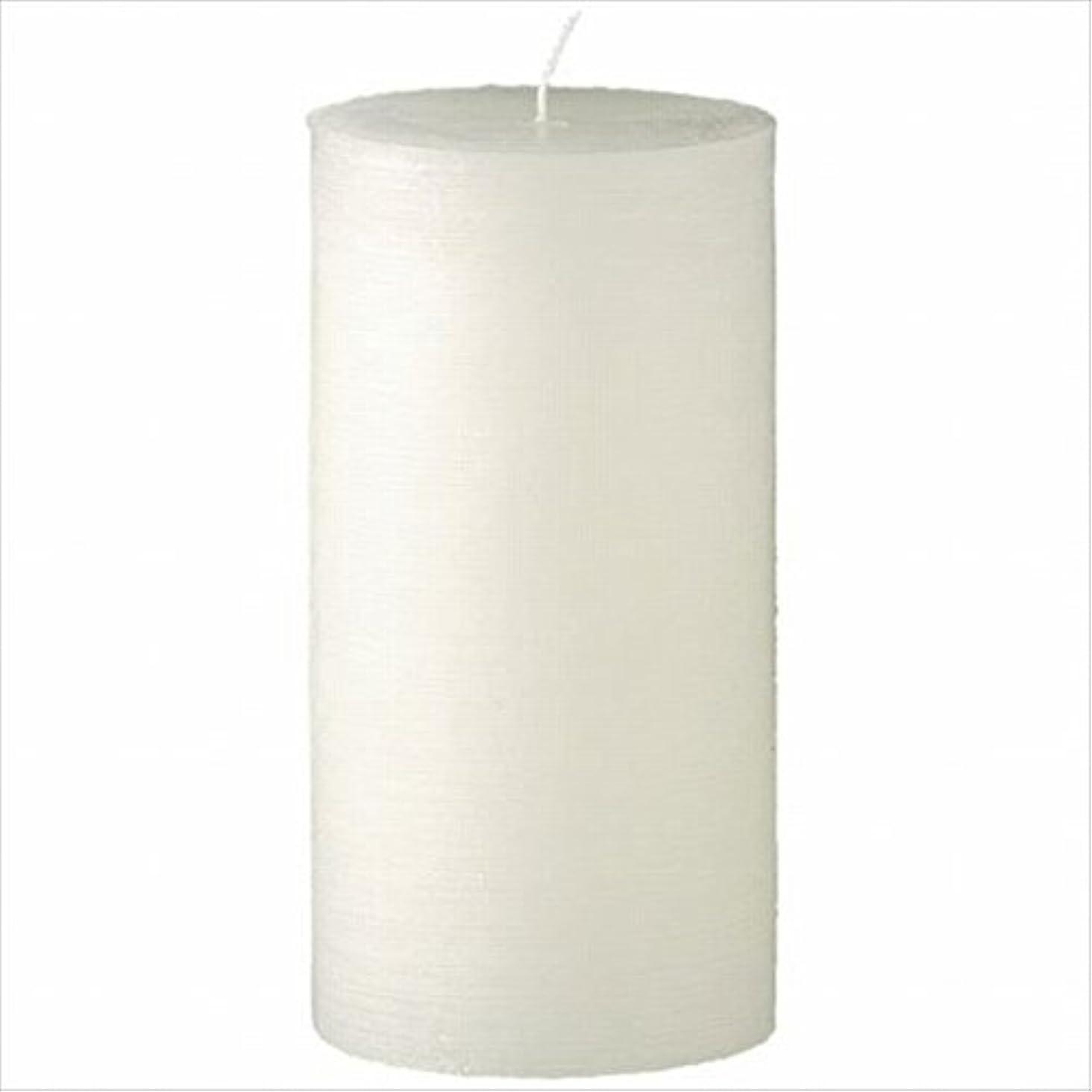 ヤンキーキャンドル( YANKEE CANDLE ) ラスティクピラー3×6 「 シルキーホワイト 」 キャンドル