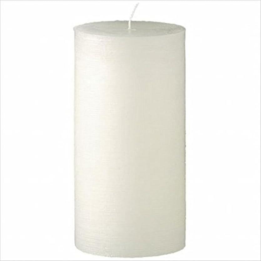 慰め実行する歌ヤンキーキャンドル( YANKEE CANDLE ) ラスティクピラー3×6 「 シルキーホワイト 」 キャンドル