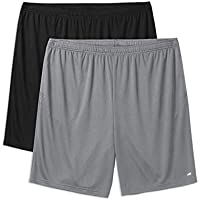 Amazon Essentials Men's Big & Tall 2-Pack Performance Shorts
