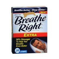Breathe Right Nasal Strips Extra 26 Each by Breathe Right