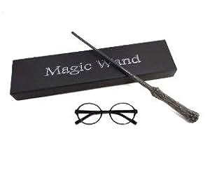 ハリーポッター 魔法の杖 光るタイプ めがね付き ハリーポッター専用 レプリカ マイセルフストア
