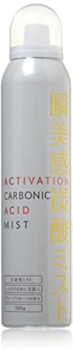 蓋モデレータベイビーアクティベーション瞬美感炭酸ミスト いつもの化粧水やパックがもっと潤う