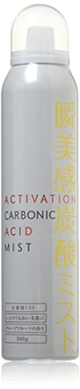 ごみ突然肝アクティベーション瞬美感炭酸ミスト いつもの化粧水やパックがもっと潤う