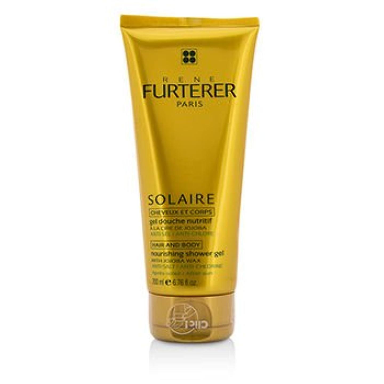 有料辛な障害者[Rene Furterer] Solaire Nourishing Shower Gel with Jojoba Wax (Hair and Body) 200ml/6.76oz