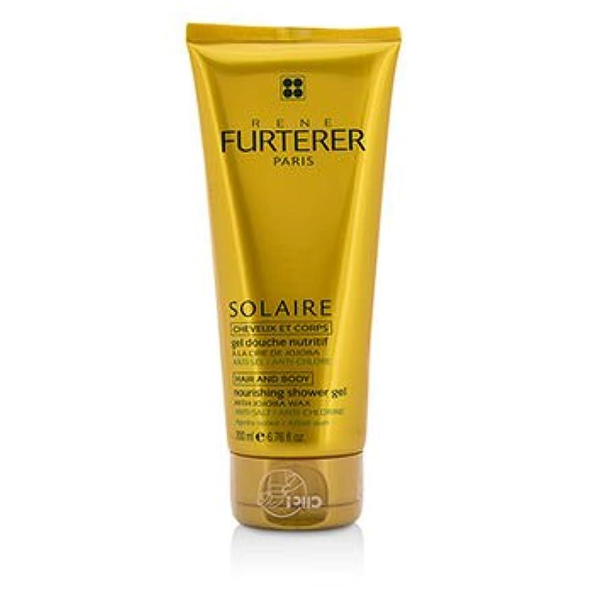 メタルライン地味な中[Rene Furterer] Solaire Nourishing Shower Gel with Jojoba Wax (Hair and Body) 200ml/6.76oz