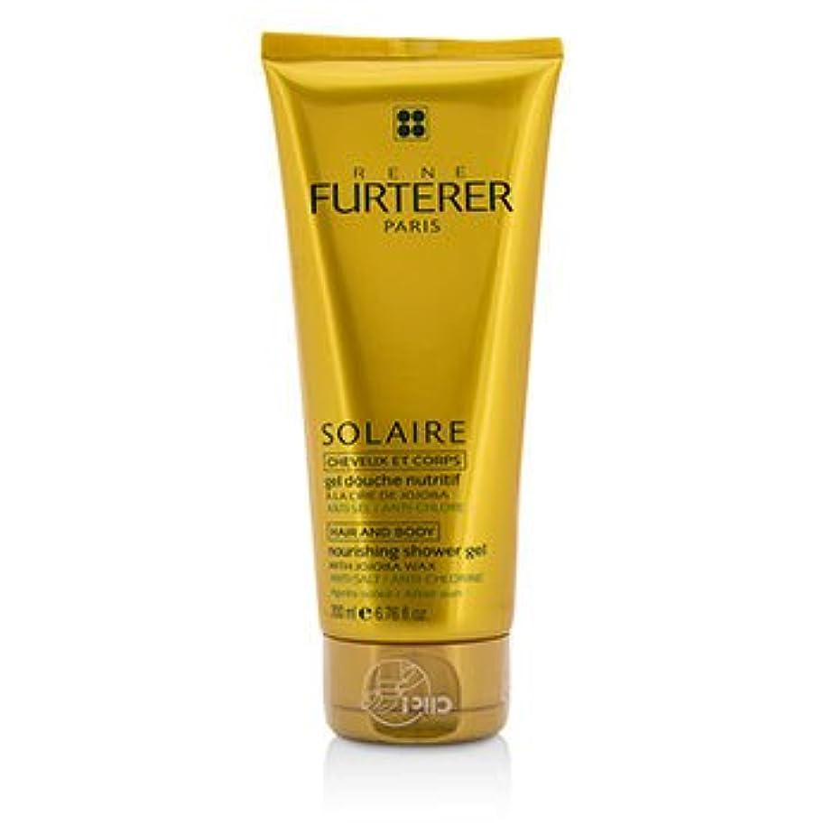 便益唯物論ビヨン[Rene Furterer] Solaire Nourishing Shower Gel with Jojoba Wax (Hair and Body) 200ml/6.76oz