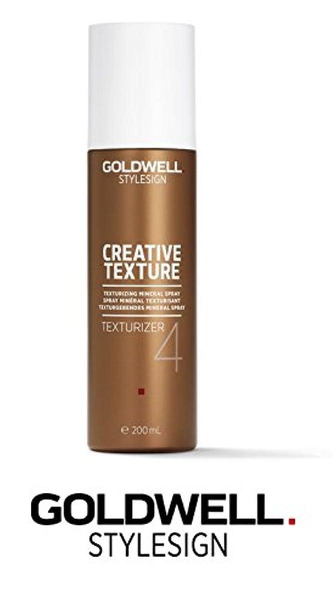 薬用偽装する織機Goldwell Stylesignクリエイティブテクスチャライザ4テクスチャ化ミネラルスプレー - 6.7オンス(なめらかなスチールピンテールコーム付き)