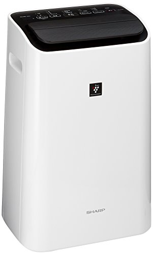 シャープ プラズマクラスター除湿機 衣類乾燥・消臭 除湿量~12L/~30畳 ホワイト CV-G120-W