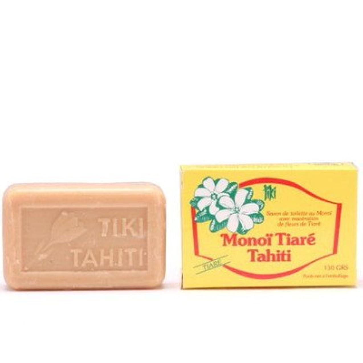 パットフィルタ重要性タヒチモノイティアレ石鹸ティアレ 130g【12個セット】