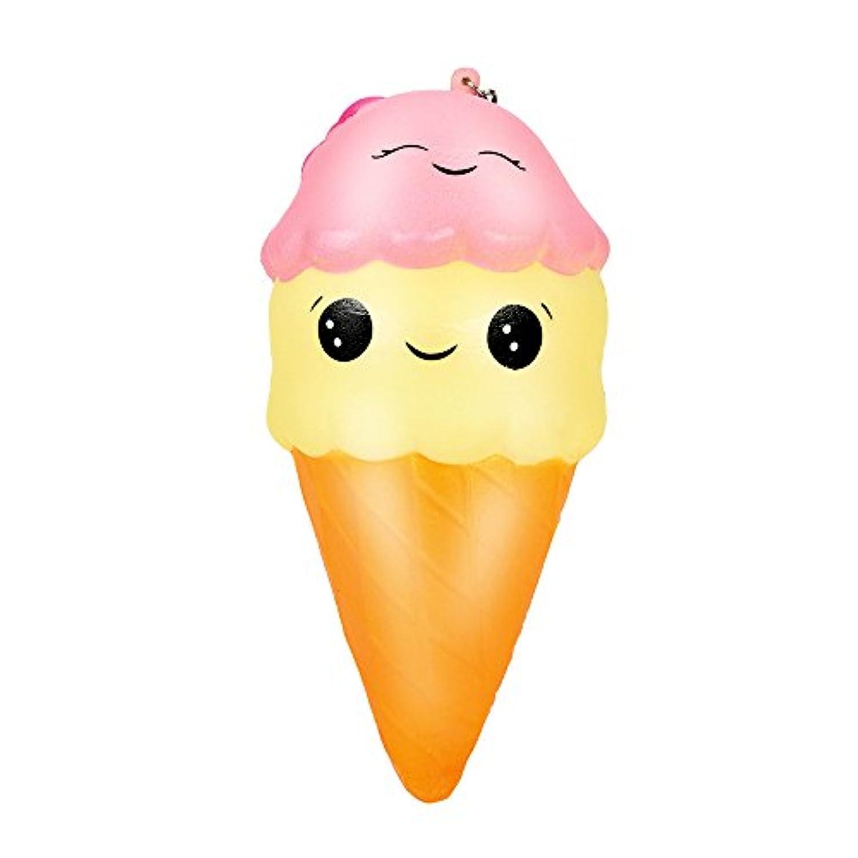 Squeeze Toy、クリアランスSale 18 cmスーパージャンボIceクリームsquishiseクリーム香りつきSlow Rising Lovely Cartoon Food Squishiesチャームキッドおもちゃ、絶妙な楽しいおもちゃyamally