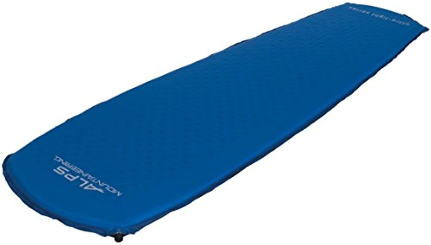 緊張でもアプライアンスUltra-Light, Air Pad, Self Inflating, Long, Blue