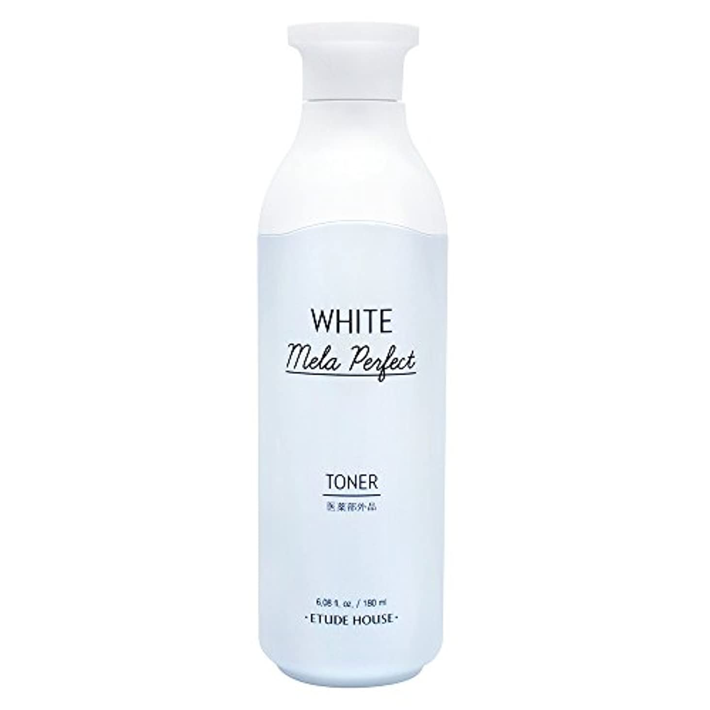 鎮静剤手のひら百エチュードハウス(ETUDE HOUSE) ホワイトメラパーフェクト トナー[化粧水、美白化粧水]