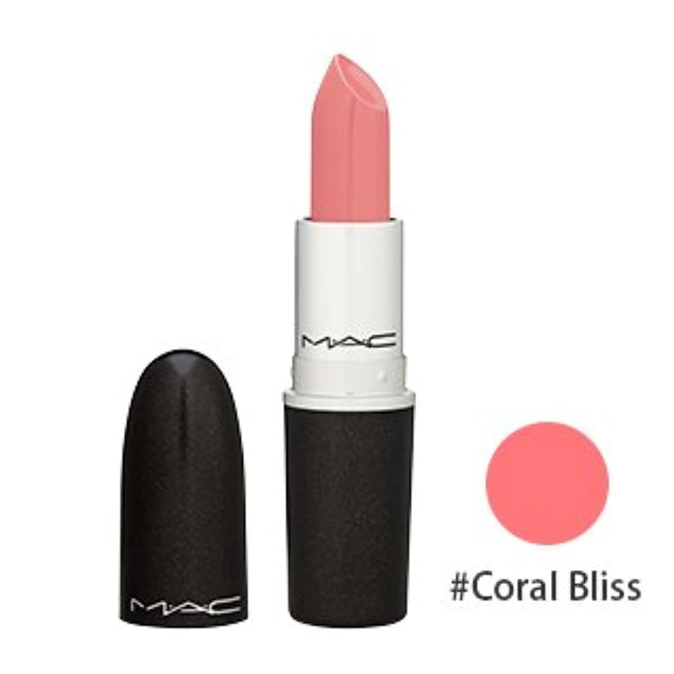 非アクティブ霧深い騒ぎマック(M?A?C(MAC)) リップスティック #Coral Bliss(コーラルピンク)[クリームシーン] 3g [海外直送品] [並行輸入品]