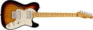 Squier by Fender エレキギター Classic Vibe '70s Telecaster® Thinline, Maple Fingerboard, 3-Color Sunburst
