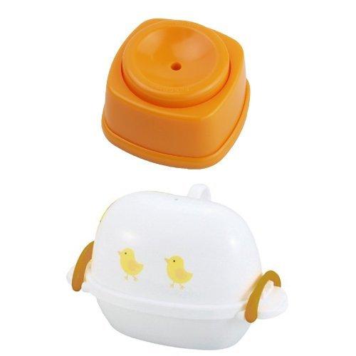 【セット買い】 パール金属 便利小物 からむき上手 C-3520 + 日本製 レンジで ゆで卵 たまご 2個用 レンジピヨ セット