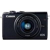 カメラ カメラ本体 デジタルカメラ Canon EOSM100BK-1545ISSTMLK ミラーレス一眼カメラ 「EOS M100」 EF-M15-45 IS STMレンズキット ブラック EOSM100EF-M15-45 -ak [簡易パッケージ品]