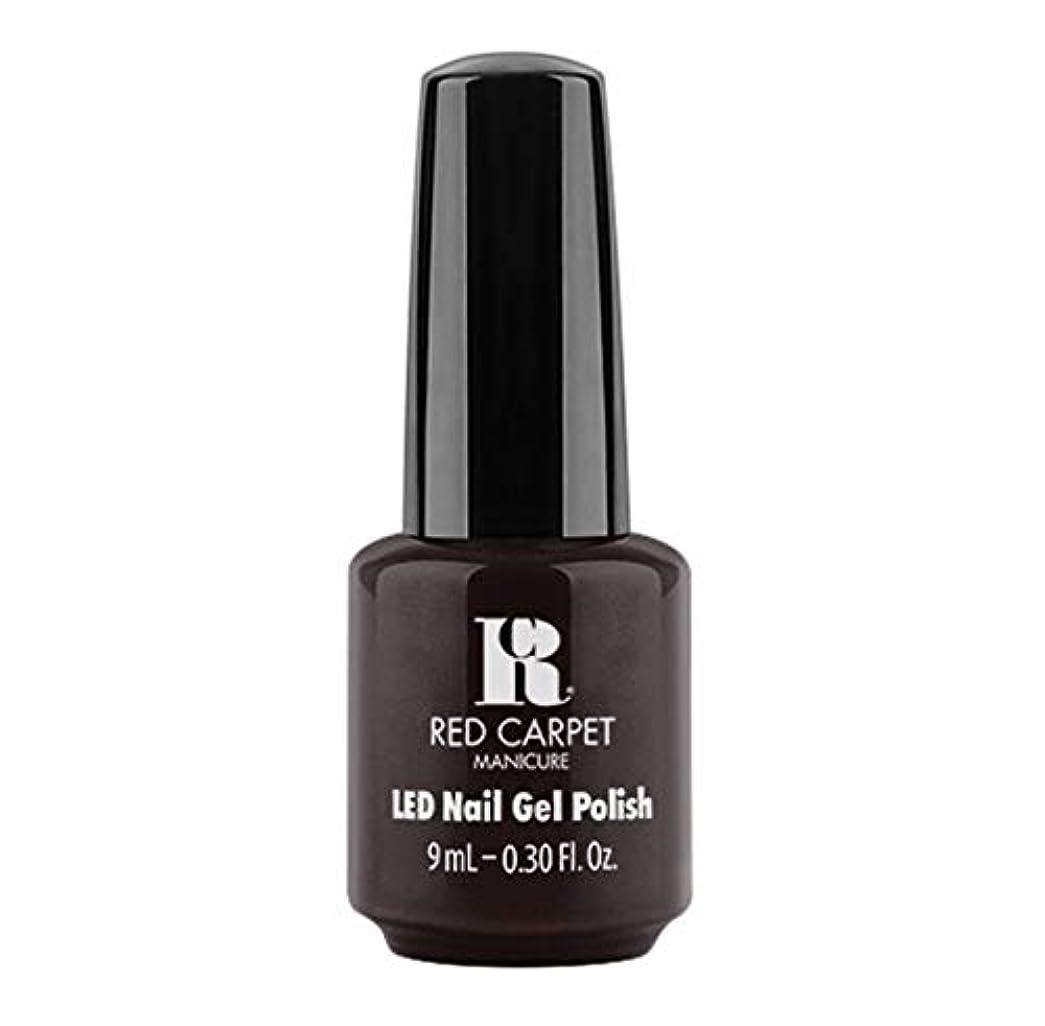 悪性の灰冷ややかなRed Carpet Manicure - LED Nail Gel Polish - Unapologetic - 9ml / 0.30oz