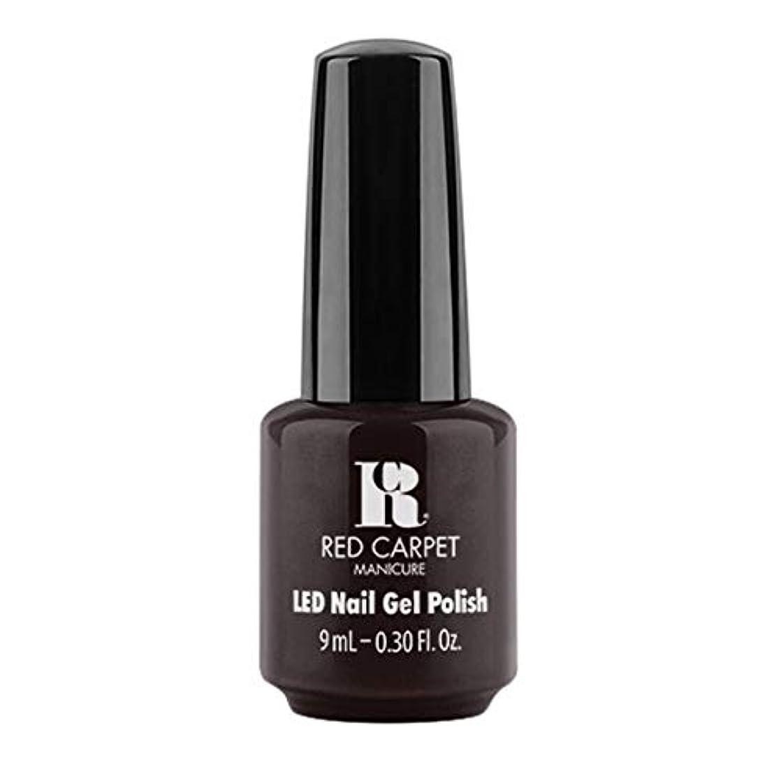 ハドル媒染剤コメンテーターRed Carpet Manicure - LED Nail Gel Polish - Unapologetic - 9ml / 0.30oz