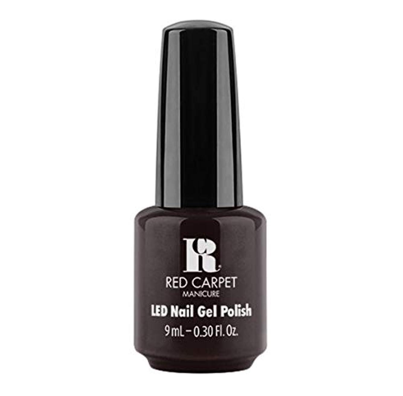 眉誰か構築するRed Carpet Manicure - LED Nail Gel Polish - Unapologetic - 9ml / 0.30oz