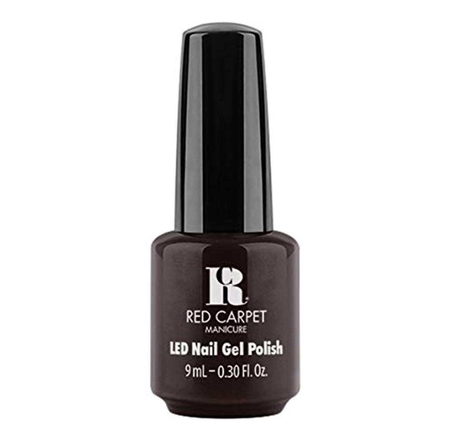 放射するクライストチャーチステープルRed Carpet Manicure - LED Nail Gel Polish - Unapologetic - 9ml / 0.30oz