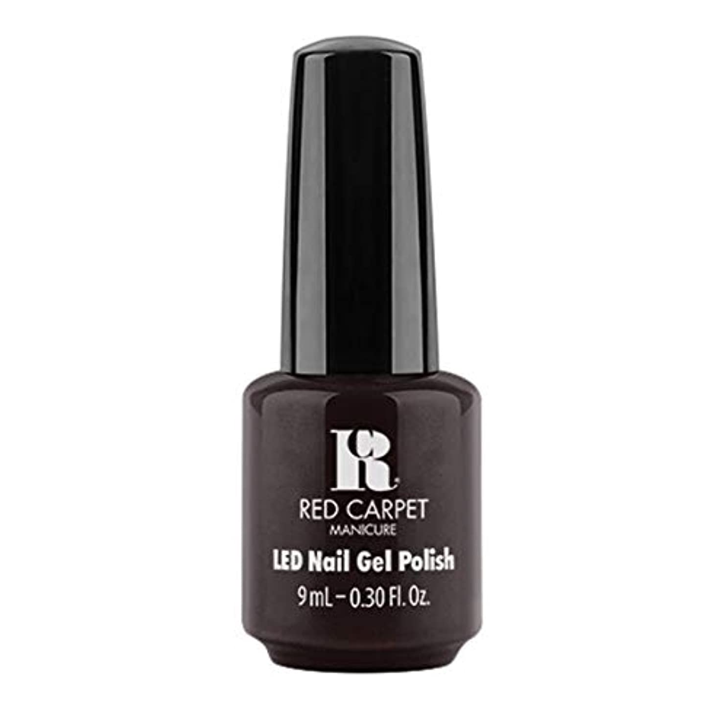 説明する異邦人閉塞Red Carpet Manicure - LED Nail Gel Polish - Unapologetic - 9ml / 0.30oz