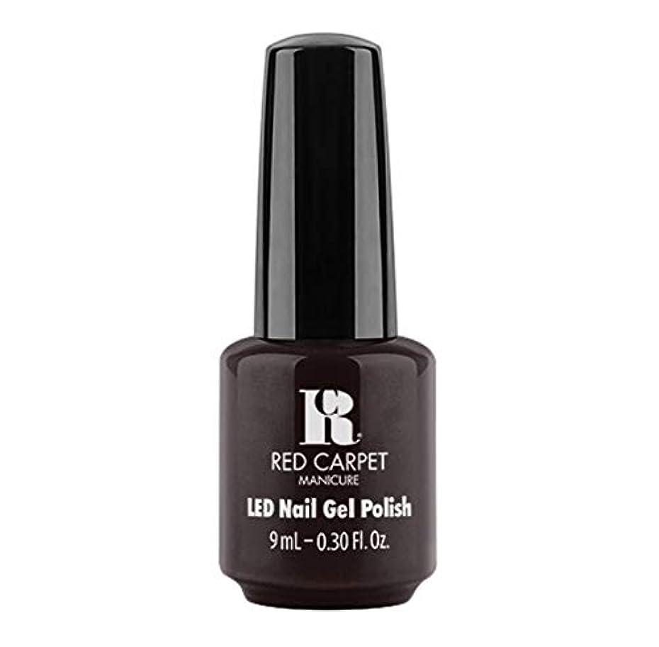 ジャベスウィルソン四分円カスタムRed Carpet Manicure - LED Nail Gel Polish - Unapologetic - 9ml / 0.30oz