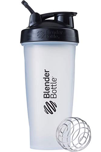 ブレンダーボトル 【日本正規品】 Blender Bottle Classic w/Loop 28オンス (800ml) Clear ブラック BBCLE2...