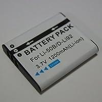 【PCATEC】 RICOH DB-100/SONY BK1/OLYMPUS Li-50B 対応互換大容量バッテリー