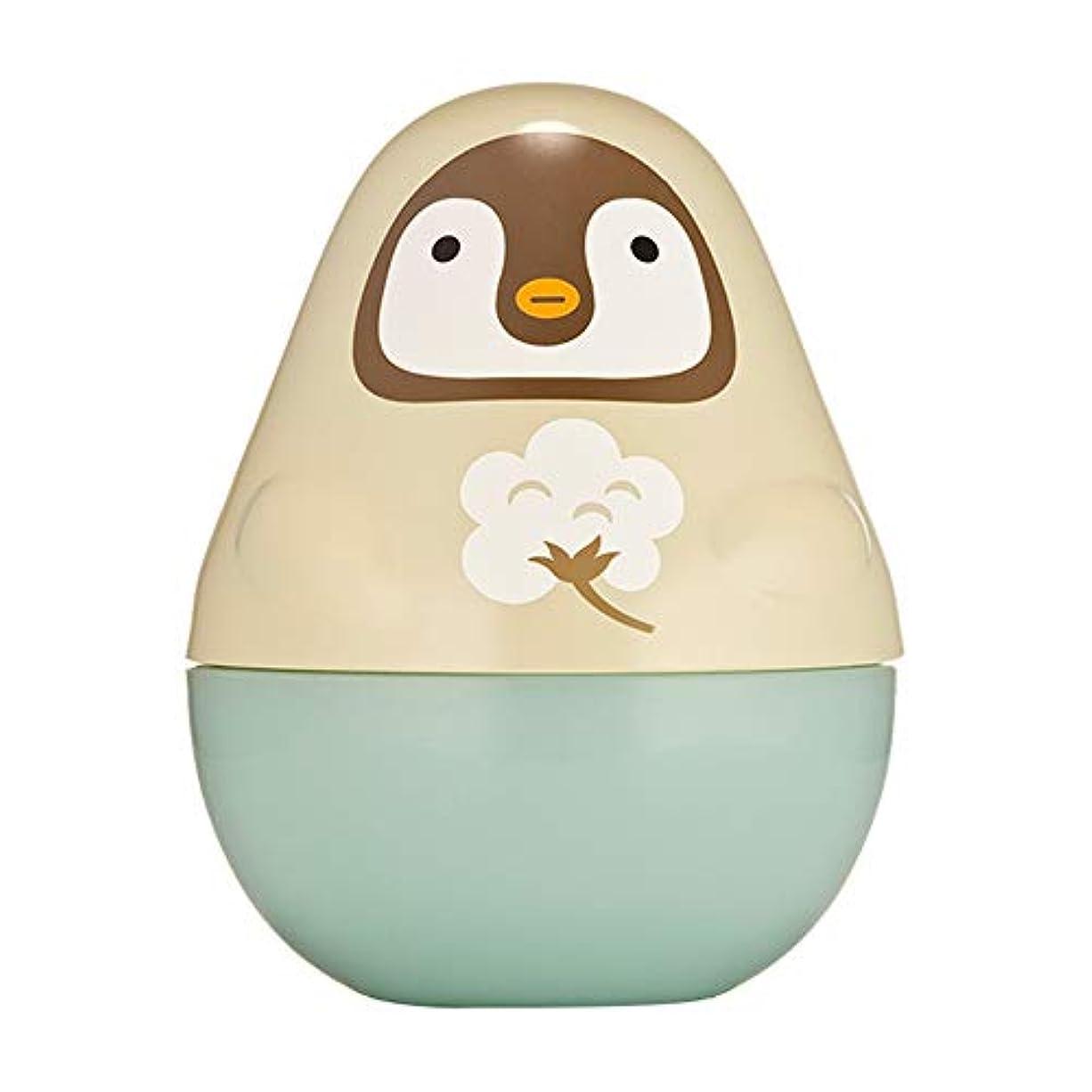 実験をするガイド地殻エチュードハウス(ETUDE HOUSE) ミッシングユー ハンドクリーム ペンギン(ベビーパウダーの香り)