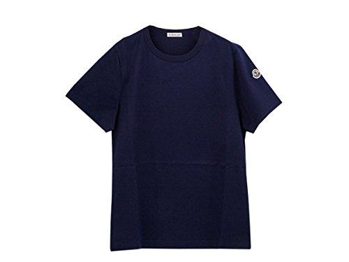 [モンクレール]MONCLER Tシャツ 80834 00 8390X 2018年春夏 半袖 778 NAVY size-S [並行輸入品]