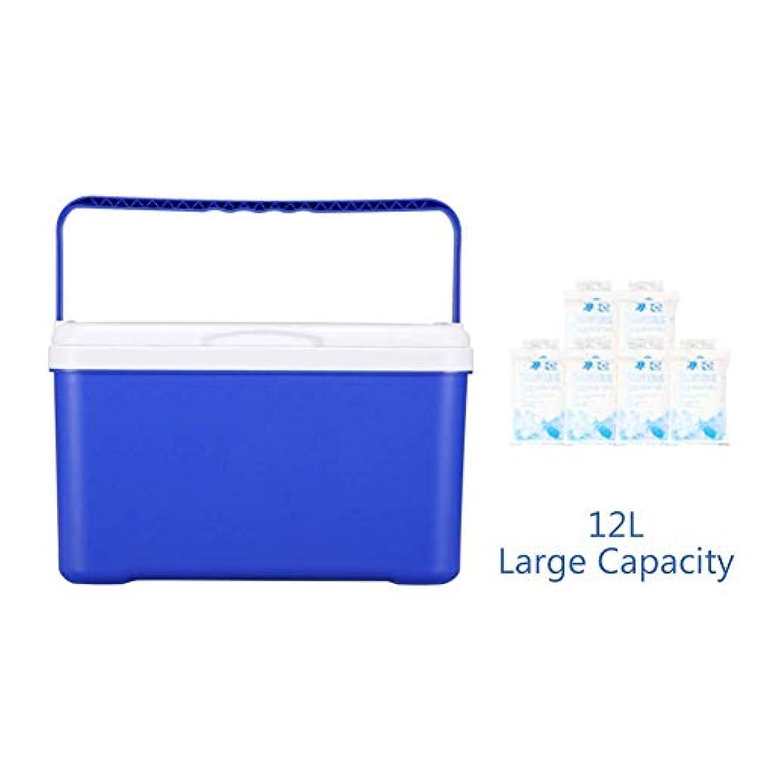 影のある眩惑する余分なポータブル冷蔵庫クーラーボックス、屋外冷蔵庫用断熱冷蔵庫クーラーミニ冷蔵庫アイスバケット収納ボックスクーラー-c 41x26x40cm(16x10x16inch)