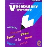 Vocabulary Workshop: Level Purple