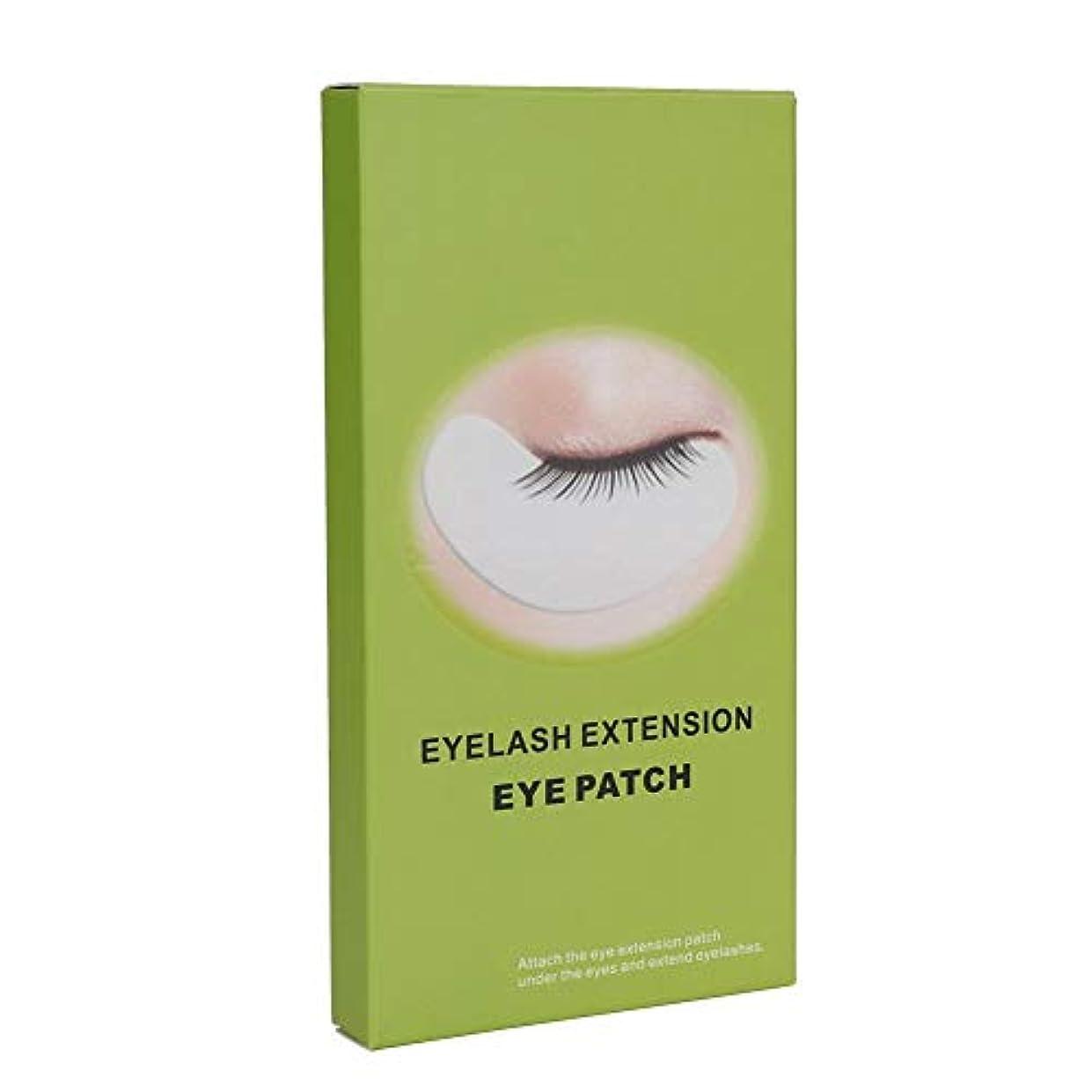 検出する箱記念日10対のまつげパッド - プロのアイジェルパッチ、DIYつけまつげエクステ化粧品 - 拡張アイエクステンションまつげ美容