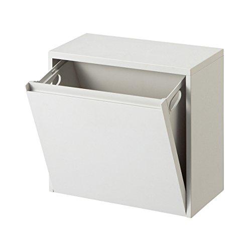 RoomClip商品情報 - 無印良品 重ねて増やせるダストボックス 約幅40×奥行き20×高さ37cm 日本製