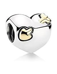 PANDORA Charms Sterling Silver Original Heart and Arrow Charm