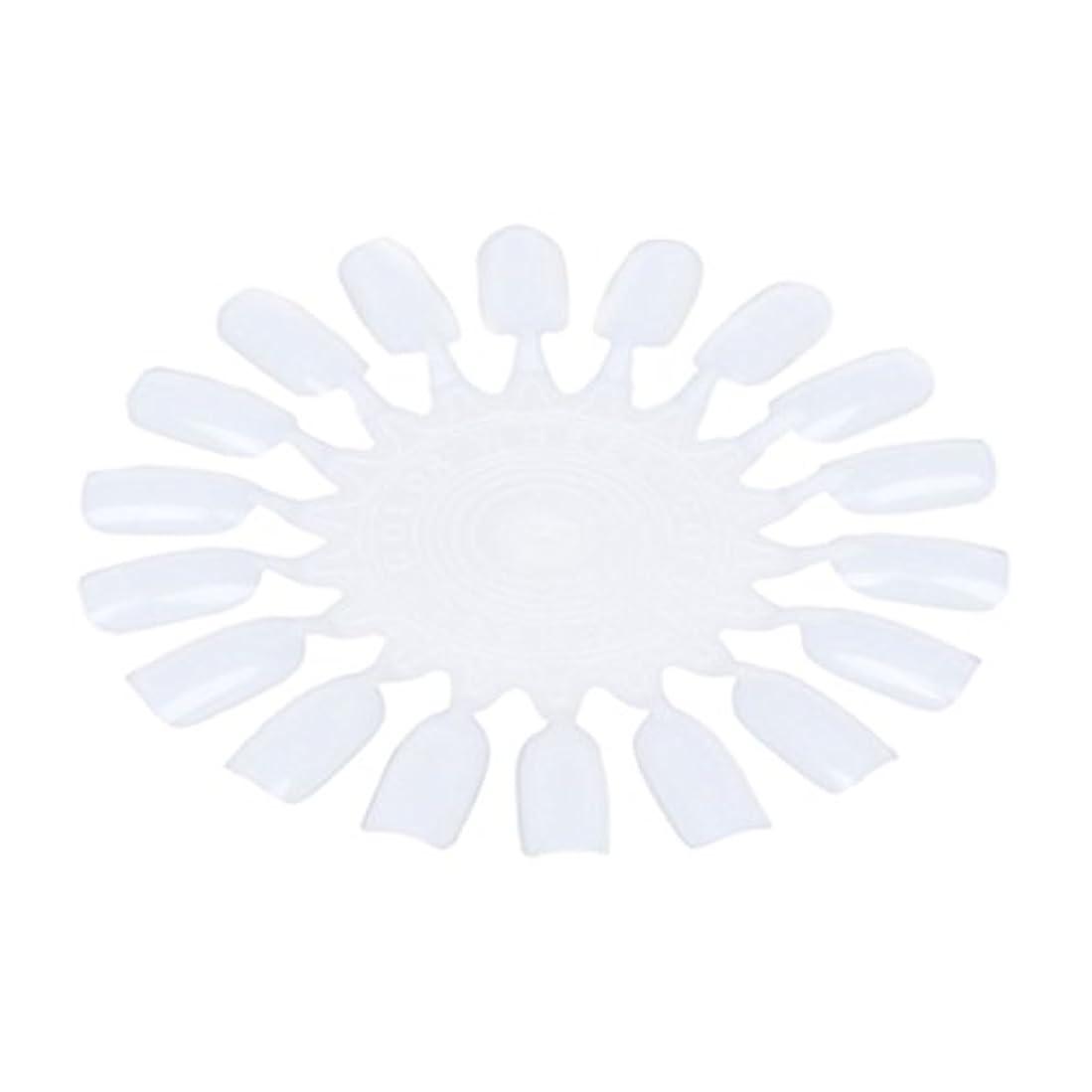 ページ通信するスピンNrpfell 10個 メークアップ化粧ネイル ポーランドカラー段ボールカラーチャート18カラー ベージュ