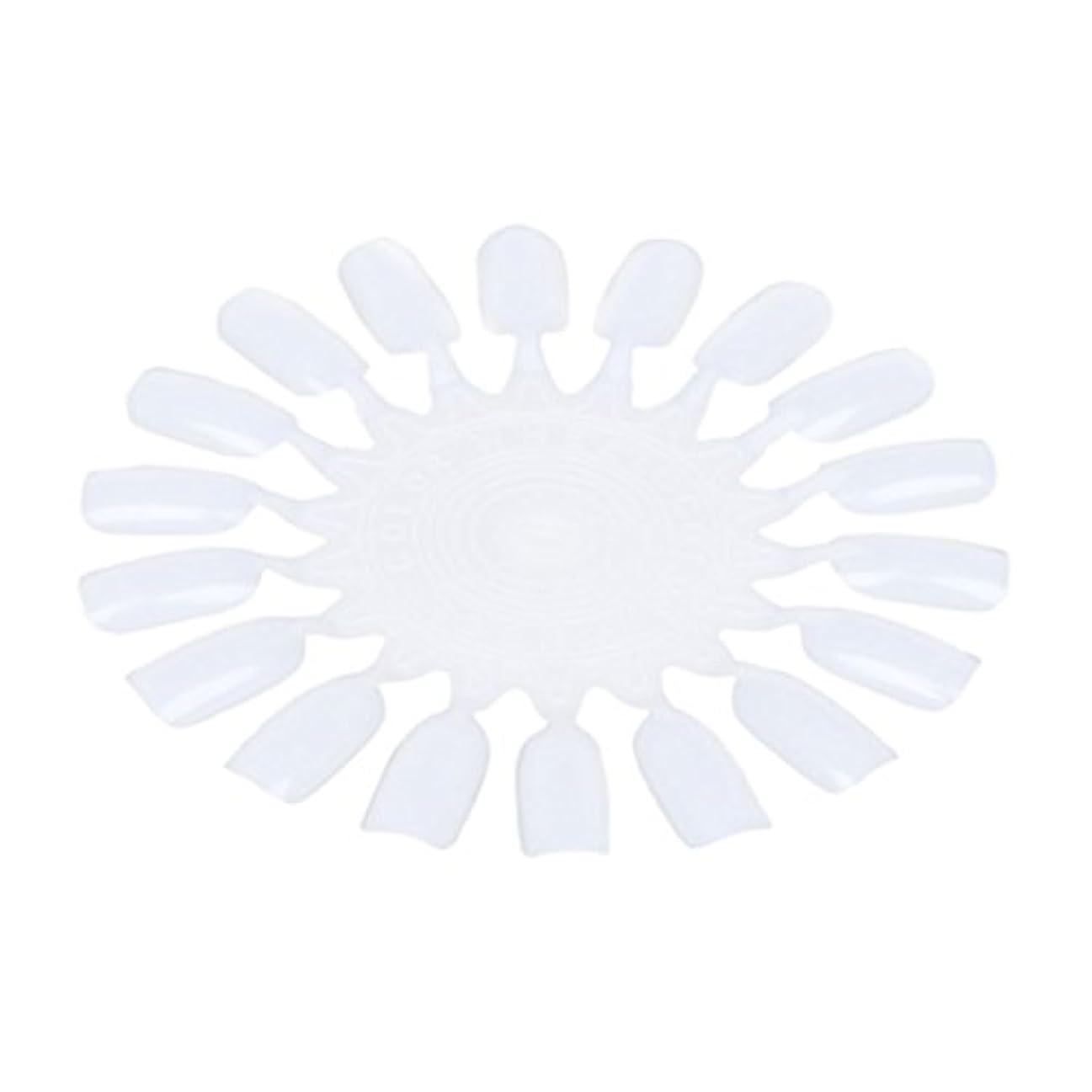 ドキドキエイリアス動機RETYLY 10個 メークアップ化粧ネイル ポーランドカラー段ボールカラーチャート18カラー ベージュ