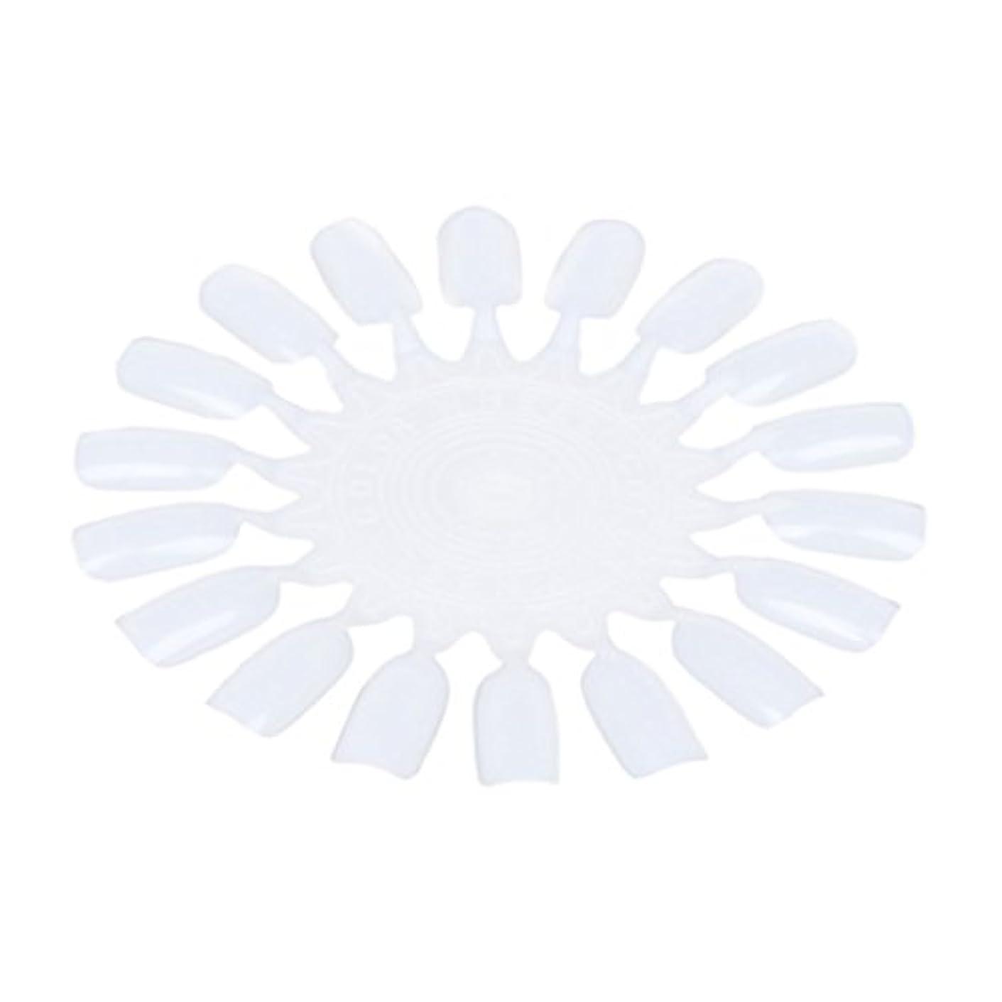 スマート不正幻滅RETYLY 10個 メークアップ化粧ネイル ポーランドカラー段ボールカラーチャート18カラー ベージュ